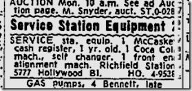 Nov. 23, 1959, Richfield Service