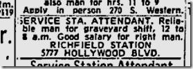 Jan. 14, 1960, Richfield Service