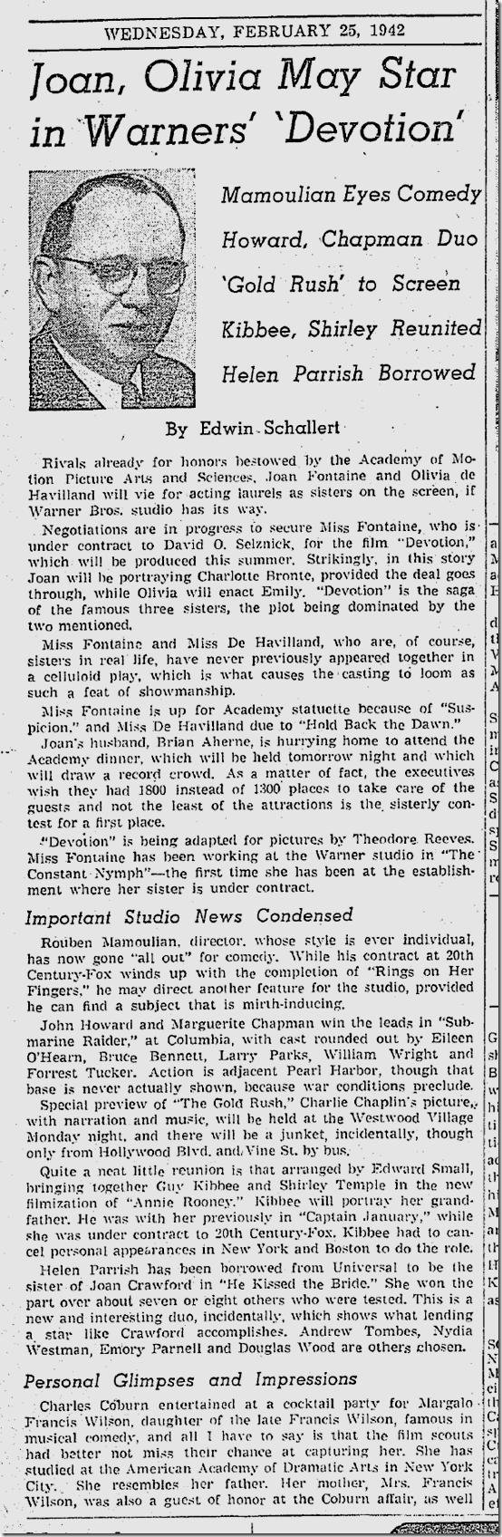 Feb. 25, 1942, Edwin Schallert