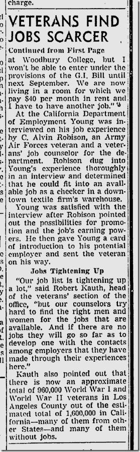 Feb. 24, 1947, Unemployment