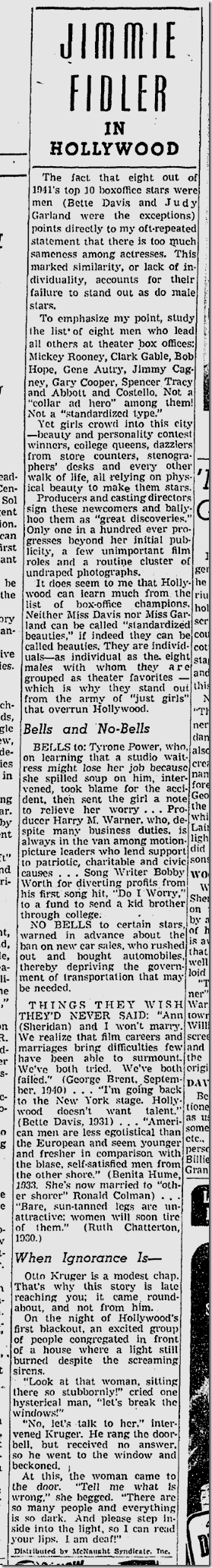 Feb. 2, 1942, Jimmie Fidler