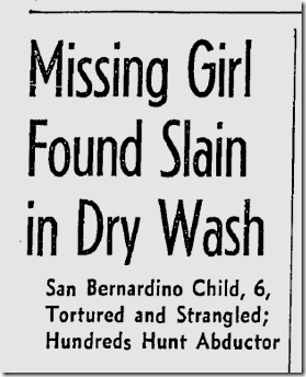 Feb. 4, 1942, Missing Girl Found