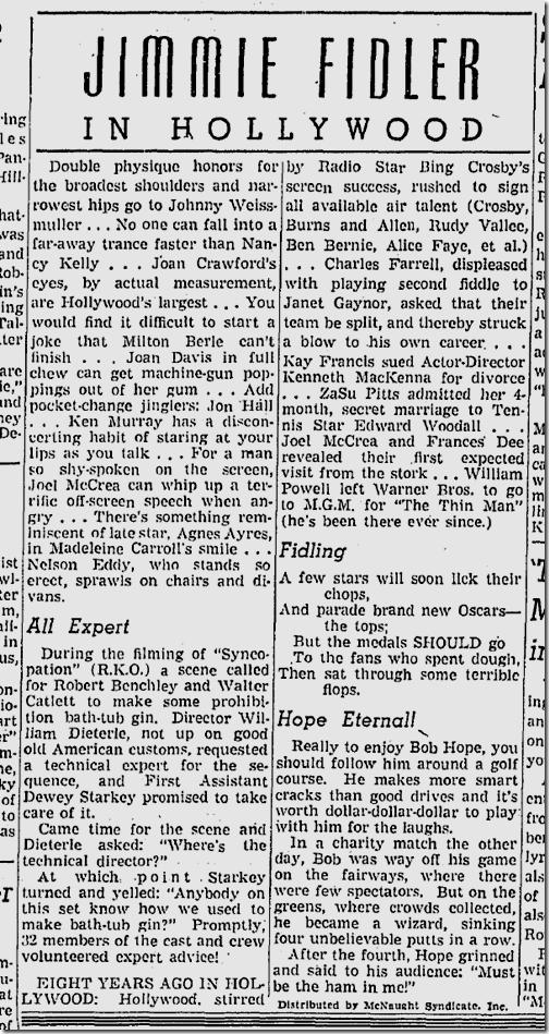 Feb. 4, 1942, Jimmie Fidler
