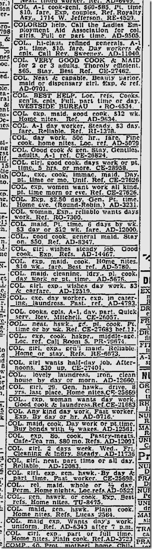 Feb. 9, 1942, Help Wanted