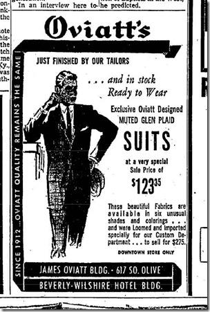 May 20, 1959, Oviatt's