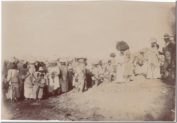 C.C. Pierce Photo of Yaqui Relocation