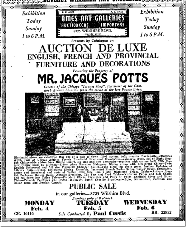 Feb. 3, 1952: Jacques Potts