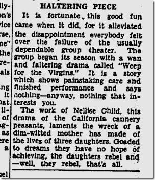 Dec. 9, 1935, Nellise Child