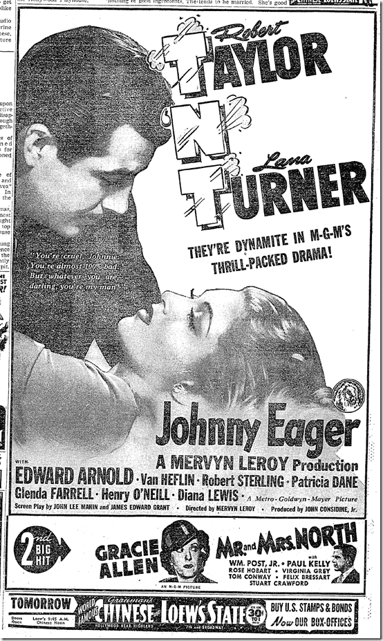 """Johnny Eager"""