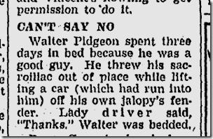 Nov. 18, 1946, Walter Pidgeon