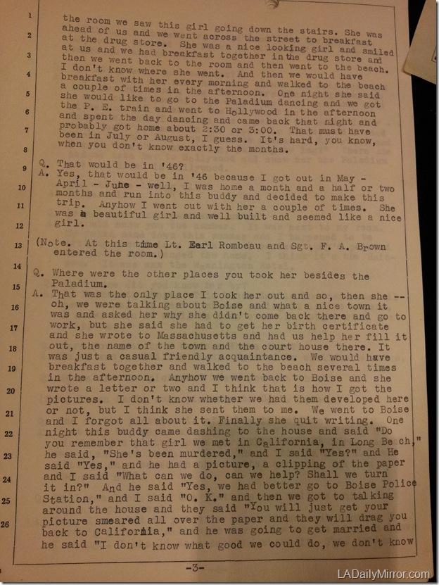 Black Dahlia Interview