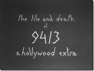 """""""Life and Death of 9413"""""""