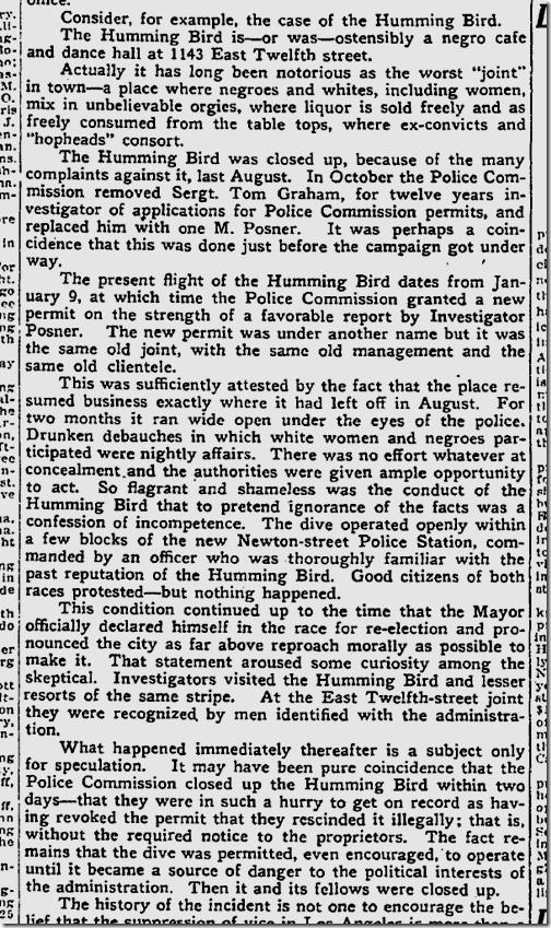 March 24, 1925, Hummingbird