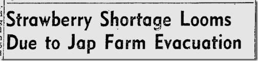 April 16, 1942, Japanese Farmers