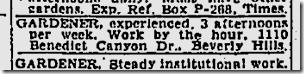 April 4, 1943, Gardener