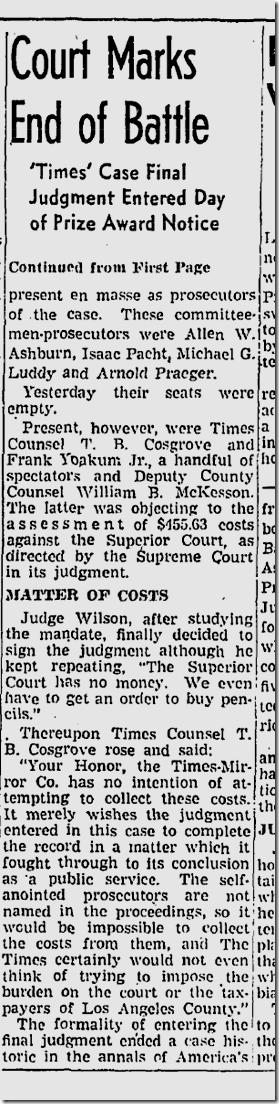 May 5, 1942, Times Wins Pulitzer