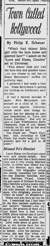 May 17, 1942, Town Called Hollywood