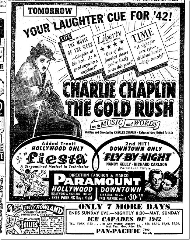 May 18, 1942, Gold Rush