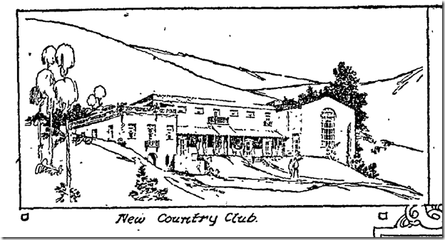 With the name Hollywood Country Club, one would assume that a golfing club ...