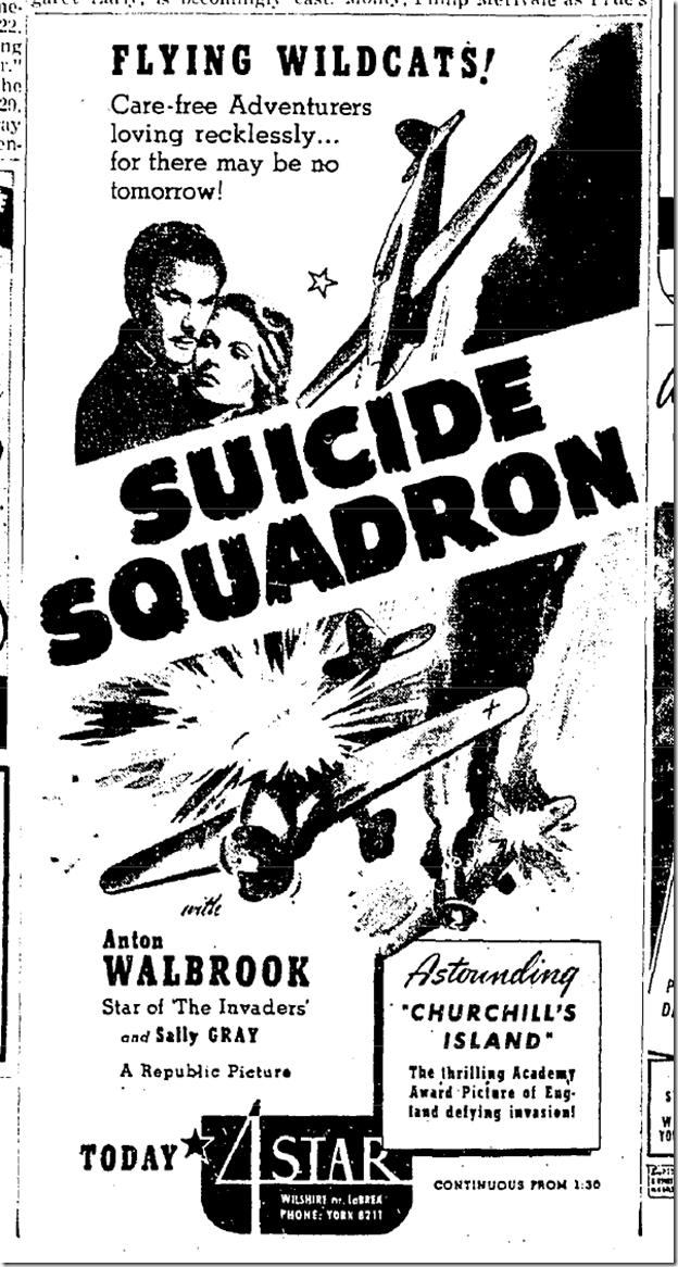 June 12, 1942. Suicide Squadron