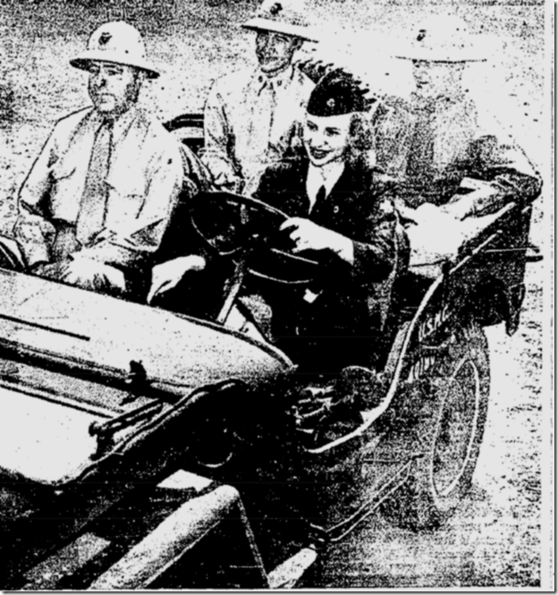 June 13, 1942, Women Drivers