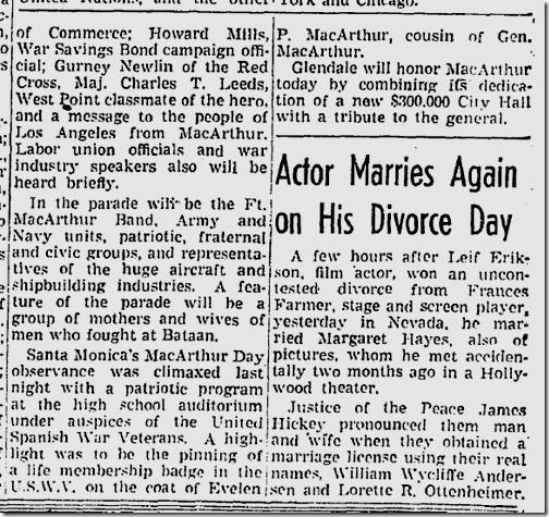 June 13, 1942, MacArthur Park