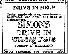 June 16, 1942, Help Wanted