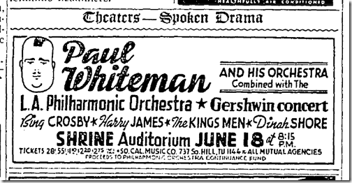 June 16, 1942, Paul Whiteman