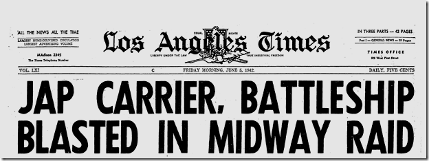 June 5, 1942, Midway