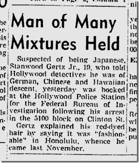 June 23, 1942, Eurasian