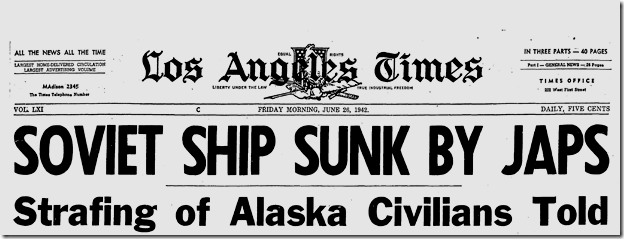 June 26, 1942, Soviet Sub