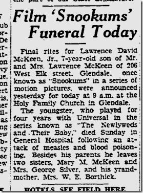April 5, 1933, Lawrence David McKeen