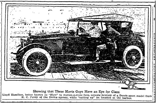 Lloyd Hamilton, Oct. 17, 1920