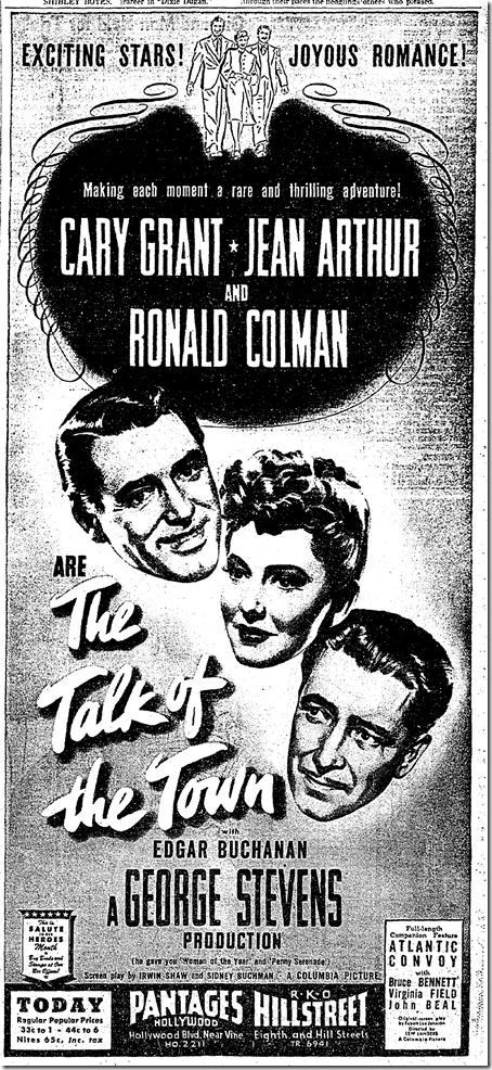 Sept. 9, 1942, Talk of the Town