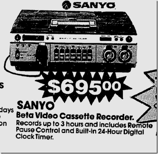 Betamax!