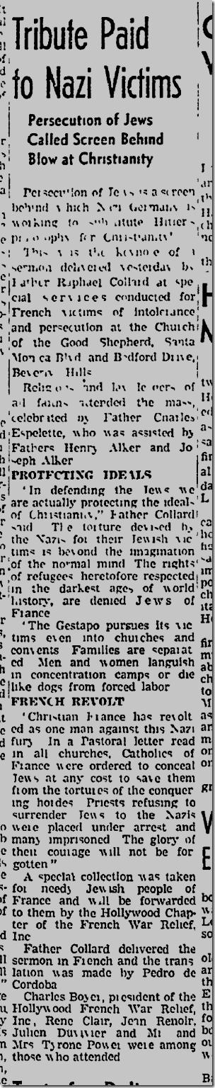 Oct. 19, 1942, Holocaust Victims