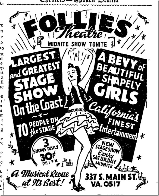 Oct. 24, 1942, Follies