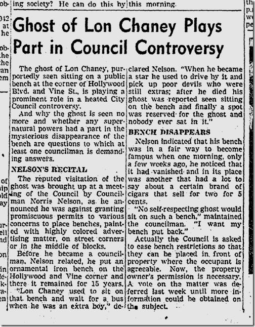 Oct. 26, 1942, Lon Chaney