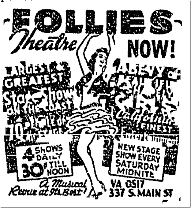 Oct. 12, 1942, Follies