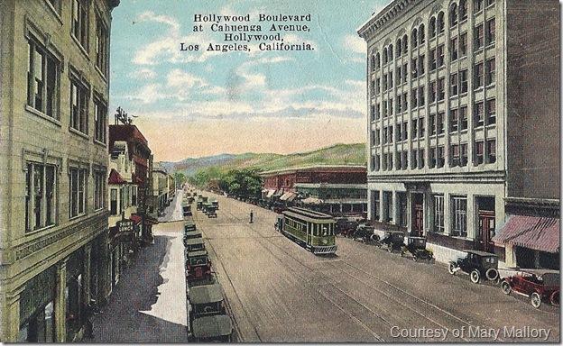 Hollywood and Cahuenga