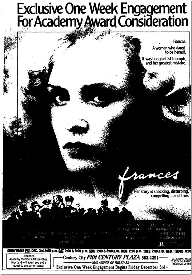 Nov. 28, 1982, Frances