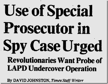 Dec. 11, 1982, LAPD spying case