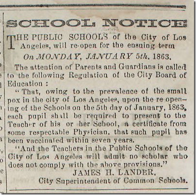 Jan. 3, 1863, Smallpox