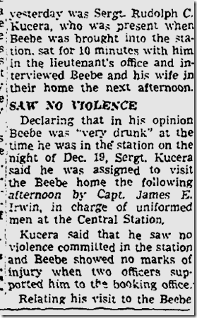 Jan. 13, 1943, Beebe Case