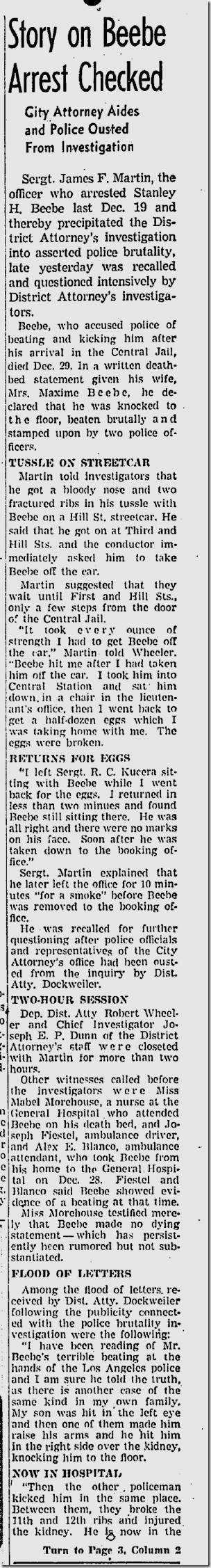 Jan. 17, 1943, Beebe Case