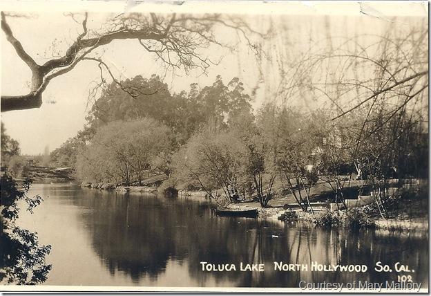 Toluca lake 1939