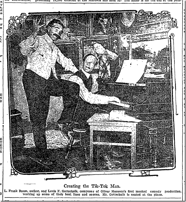 April 3, 1913, Tik-Tok Man