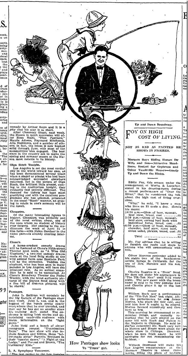 April 10, 1913, Cartoon