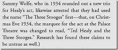 """Three Stooges Scrapbook,"" Page 70"
