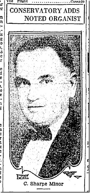 Sept. 2, 1928, C. Sharpe Minor